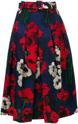 Samantha Sung pleated full skirt