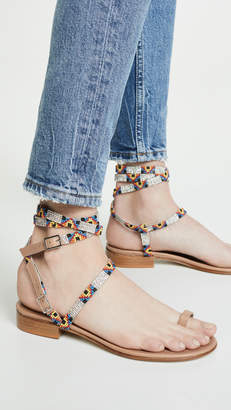 Barely There Leandra Medine Beaded Sandals