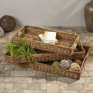 Highland Dunes Bagnell Woven Trays