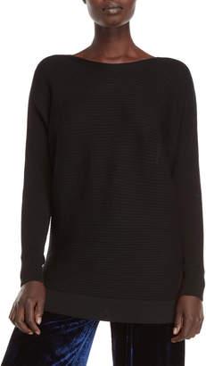 Roberto Collina Ribbed Dolman Wool Sweater