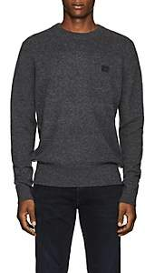 Acne Studios Men's Nalon Wool Sweater - Charcoal