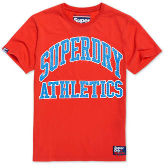 Superdry Men's Team Tigers Podium Logo Graphic T-Shirt