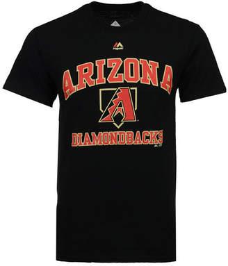 Majestic Men's Arizona Diamondbacks Hit and Run T-Shirt