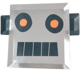 Meri Meri Robot Paper Plates - Set of 8