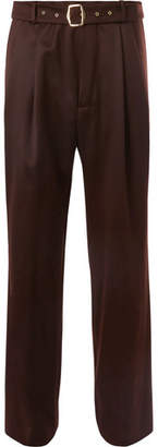 Sies Marjan - Andy Wool-twill Trousers - Brown