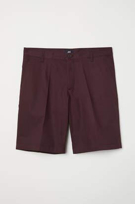 H&M Chino Shorts - Red