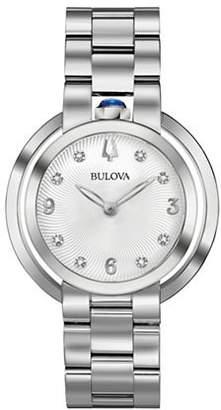 Bulova Rubaiyat Collection Stainless Steel Link Bracelet