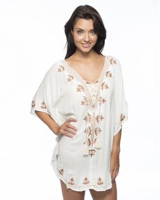 LUXE by Lisa Vogel Premiere Tunic $178 thestylecure.com