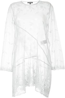 Ann Demeulemeester sheer lace dress