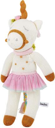 Zubels Knit Unicorn Doll, 14
