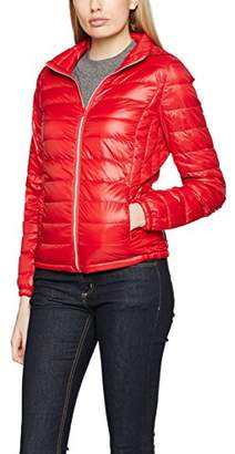 Benetton Women's Down Puffa Detachable Hood Jacket,(Manufacturer Size:44)