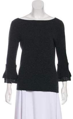 Ralph Lauren Cashmere Embellished Sweater