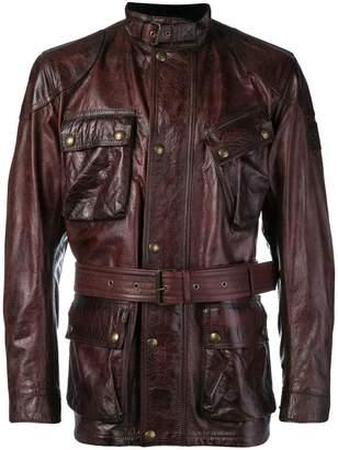 Belstaff belted cargo jacket