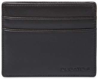 Bugatchi Men's Lamb Skin Card Case