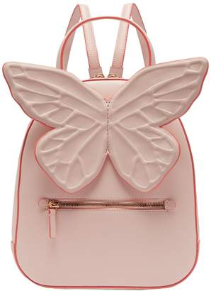 Sophia Webster Kito butterfly-appliqued leather backpack