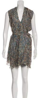 Isabel Marant Knee-Length Floral Print Dress