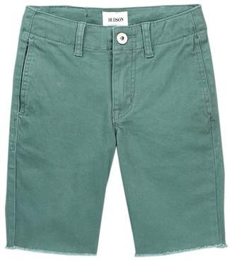 Hudson Raw Hem Sateen Chino Shorts (Big Boys)