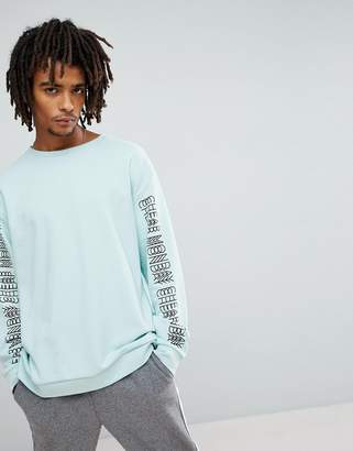 Cheap Monday Snooze Sweatshirt in Mint