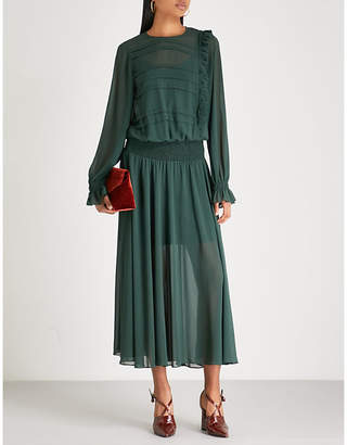 Preen Line Salome crepe midi dress