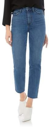 Sam Edelman Mary Jane Raw Edge Crop Jeans