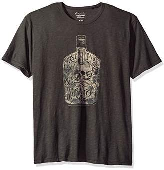 Lucky Brand Men's First You Take A Drink Graphic Tee
