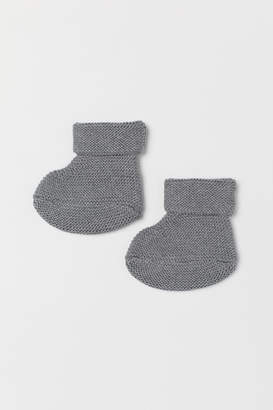 H&M Knit Slipper Socks