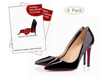 Christian Louboutin Goldblue Sole Sticker Crystal Sole Protectoror Heels Bottoms Slip Resistant Shoe Sole Cover Protectoror Heels