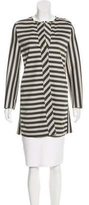 Harris Wharf London Striped Knit Coat