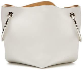 Jil Sander Leather Loop Pouch Bucket Bag