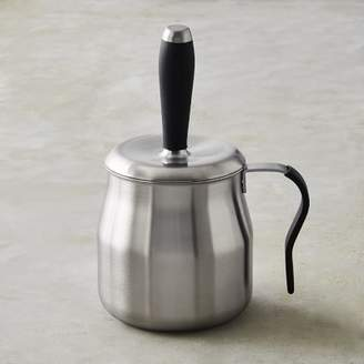 Williams-Sonoma Williams Sonoma Stainless-Steel Basting Pot with Silicone Brush and Handle
