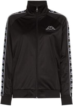 Charm's x Kappa Logo embellished high neck jacket