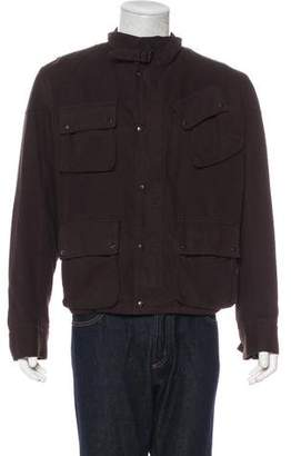 Balenciaga 2005 Wool-Lined Field Jacket