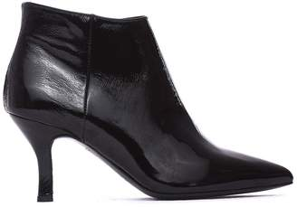 Janet & Janet Mina Black Ankle Boots