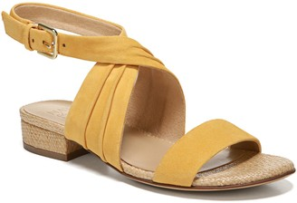 Naturalizer Pleated Ankle Strap Sandals - Maddy