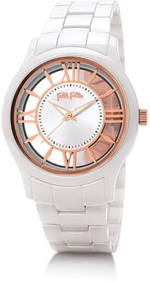 Folli Follie (フォリフォリ) - Time Illusion Medium Case Ceramic Watch