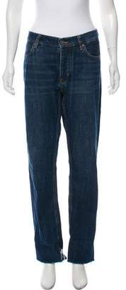 MiH Jeans Cropped High-Rise Jeans