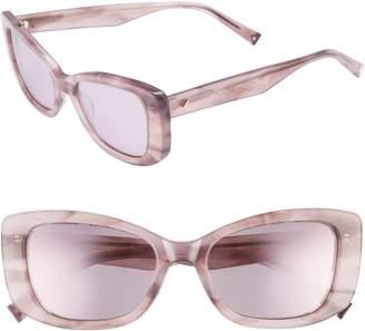 KENDALL + KYLIE 53mm Cat Eye Sunglasses