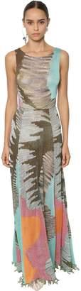 Missoni Embellished Intarsia Knit Dress