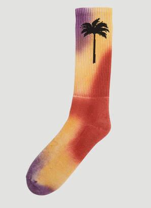 Palm Angels Palm Socks in Orange