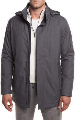Ermenegildo Zegna Techmerino Techmerino Utility Jacket