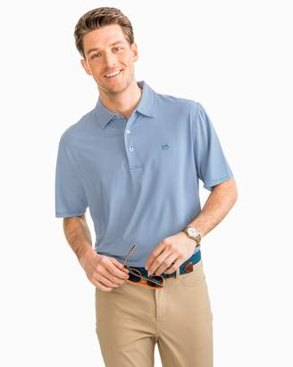 Southern Tide Fairway Dunes Stripe Performance Polo