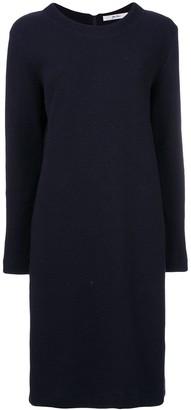 Julien David textured-knit dress
