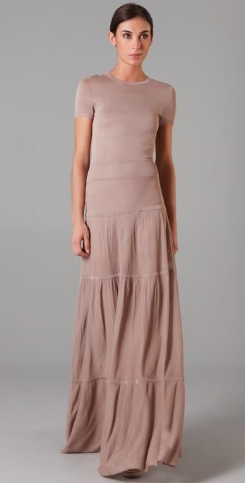 A.l.c. Knit Maxi Dress