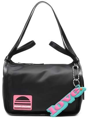 Marc Jacobs Leather-trimmed shoulder bag