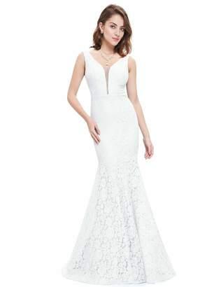 0dd3b1e17605d Evening&Tonas Lace Mermaid Wedding Dresses Simple Elegant Wedding Gowns for Bride  Dress