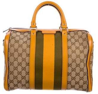 Gucci GG Web Boston Bag