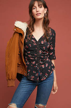 Velvet by Graham & Spencer Micco Floral Blouse