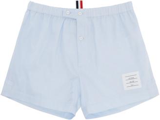 Thom Browne Blue Poplin Boxers $125 thestylecure.com