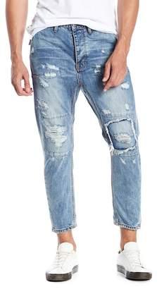 One Teaspoon Mr. Browns Distressed Slim Fit Jeans