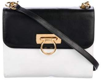 Salvatore Ferragamo Black Leather Crossbody Handbags - ShopStyle f6141e739c